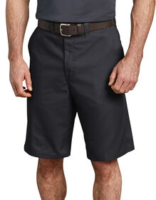 "11"" Industrial Flat Front Shorts - Black (BK)"