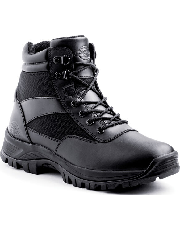 "Javelin 6"" Tactical Steel Toe Work Boots - BLACK (BLK)"