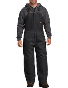 Duck Insulated Bib Overalls - Black (BK)