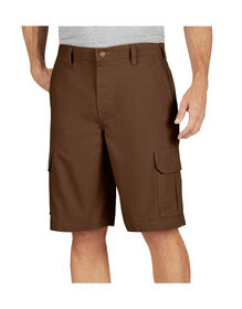 "11"" Relaxed Fit Lightweight Duck Cargo Shorts - Timber Brown (RTB)"