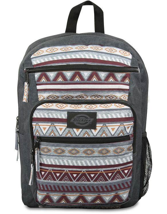 Double Deluxe Backpack Heather Tribal - HEATHER TRIBAL (HTB)