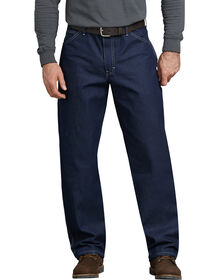 Relaxed Straight Fit Carpenter Denim Jeans - INDIGO BLUE (NB)