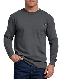 Long Sleeve Heavyweight Crew Neck T-Shirt - Charcoal Gray (CH)