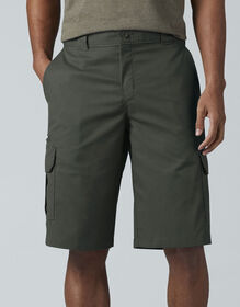 "FLEX 13"" Relaxed Fit Cargo Shorts - Olive Green (OG)"