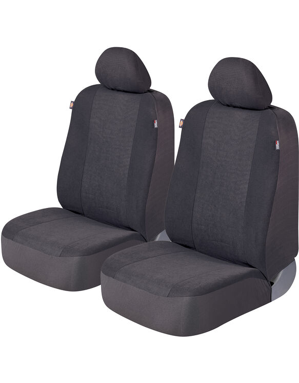 Hudson II Car Seat Covers, Set of 2 - Gray (GR)