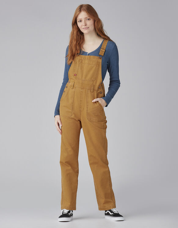 Madewell x Dickies Straight Leg Duck Overalls - Stonewashed Glazed Ginger (SGI)
