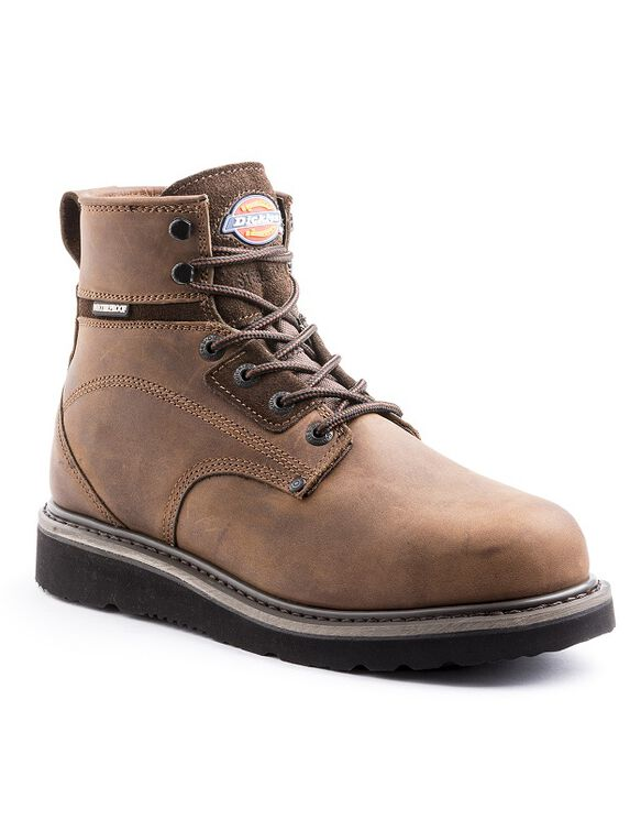 Men's Cannon Steel Toe Work Boots Brown - Brown (DW)