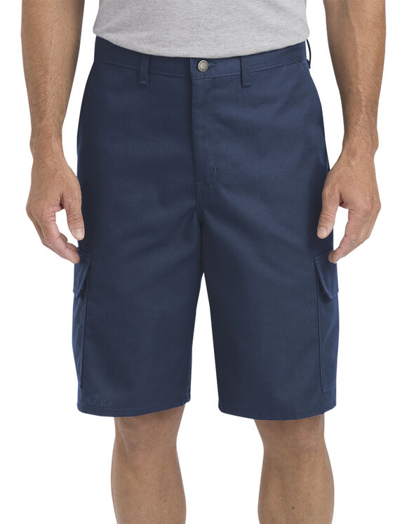 "11"" Regular Fit Industrial Cargo Shorts - Navy Blue (NV)"