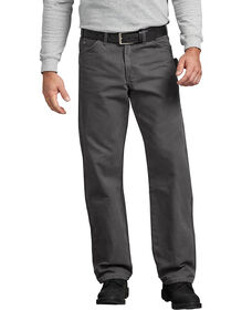 Relaxed Fit Straight Leg Carpenter Duck Jeans - RINSED SLATE (RSL)