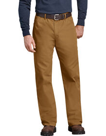 Industrial Relaxed Fit Straight Leg Carpenter Duck Jeans - Brown Duck (RBD)