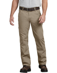 FLEX Regular Fit Straight Leg Tough Max™ Ripstop Carpenter Pants - Desert Khaki (RDS)