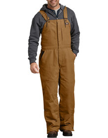 Sanded Duck Insulated Bib Overalls - Brown Duck (BD)