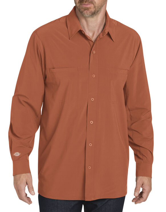 Long Sleeve Cooling Shirt - Spice (PI)