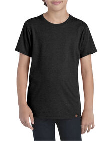 Boys' Slim Fit Lightweight T-Shirt - Black Heather (BKH)