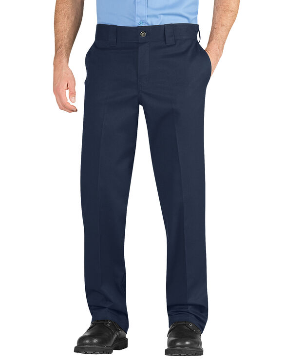 Industrial Regular Fit Straight Leg Iconic Pants - Navy Blue (NV)