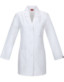 "Women's EDS Signature 32"" Lab Coat - White (DWH)"
