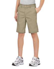 Boys' FlexWaist® Classic Fit Ultimate Khaki Shorts, 4-20 - Desert Khaki (DS)