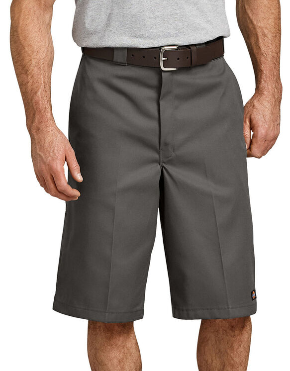 "13"" Loose Fit Multi-Use Pocket Work Shorts - Diesel Gray (YG)"