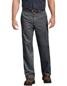 Industrial Relaxed Fit Cotton Cargo Pants - CHARCOAL (CH)