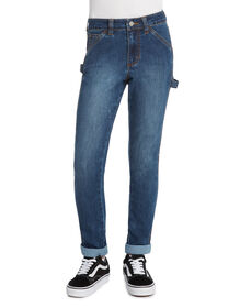 Girls' Skinny Fit Carpenter Pants - Vintage Wash (VMD)