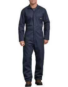 Blended Long Sleeve Coveralls - Dark Navy (DN)