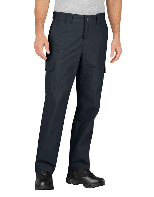 Tactical Relaxed Fit Stretch Ripstop Cargo Pants - Midnight Blue (MD)