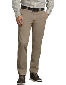 Slim Fit Tapered Leg Ring Spun Work Pants - Desert Khaki (DS)