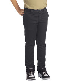 Boys' Flex Skinny Fit Straight Leg Pants, 8-20 - Charcoal Gray (CH)