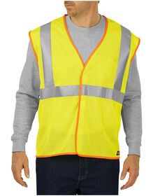 High Visibility ANSI  Mesh Vest, Class 2 - ANSI YELLOW (AY)