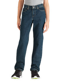 Boys' FlexWaist® Slim Fit Straight Leg 6-Pocket Denim Jeans, 8-20 - Heritage Tinted Khaki (THK)