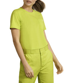Dickies Urban Outfitters Heavyweight Cropped T-Shirt - Wild Lime (WL)