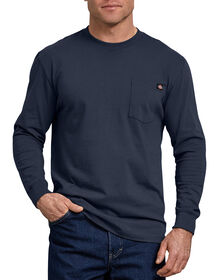 Long Sleeve Heavyweight Crew Neck T-Shirt - Dark Navy (DN)