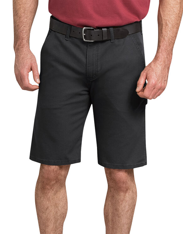 "11"" Tough Max™ Duck Carpenter Shorts - Stonewashed Black (SBK)"
