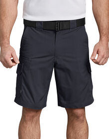 "Tactical 10"" Relaxed Fit Stretch Ripstop Cargo Shorts - Midnight Blue (MD)"