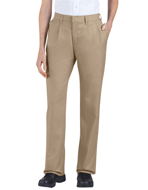 4549f15c Women's Relaxed Fit Straight Leg Pleated Front Pants