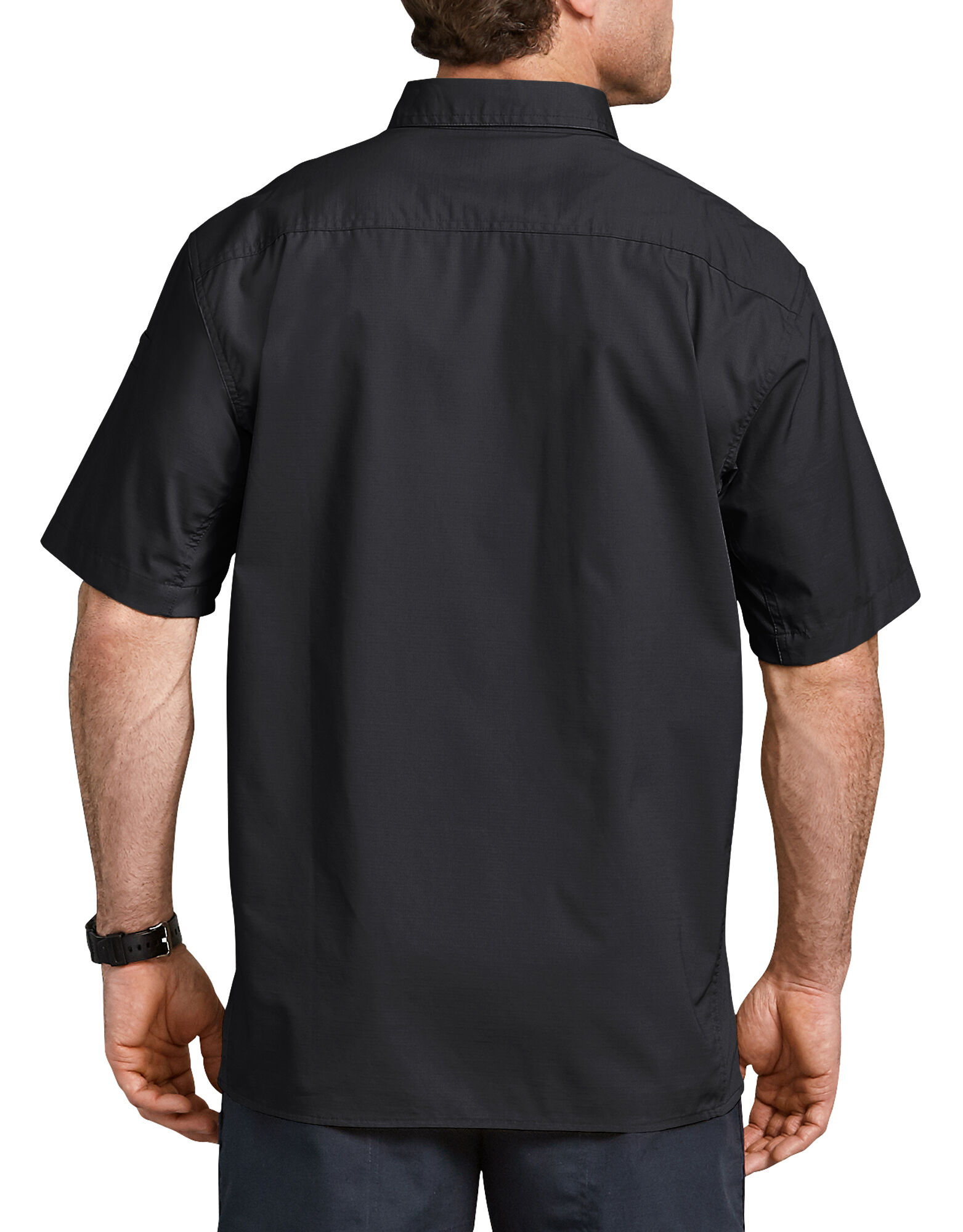 ... Tactical Ventilated Ripstop Short Sleeve Shirt - Black ... 55c5ab8b790