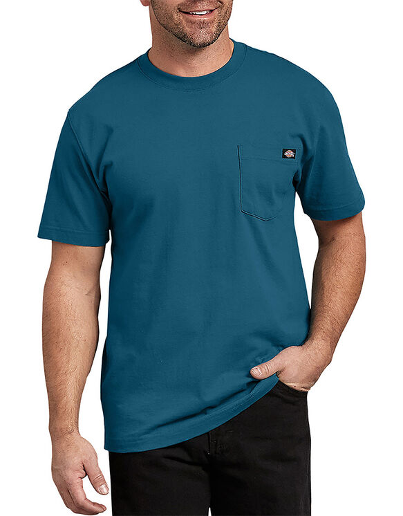 Short Sleeve Heavyweight T-Shirt - Fall Blue (FH)