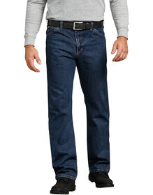 Regular Straight Fit 6-Pocket Denim Jeans - Heritage Tinted Khaki (THK)