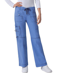 Women's Gen Flex Youtility Cargo Scrub Pants - Ceil Blue (CBL)