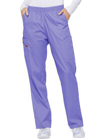 Women's Missy Fit EDS Signature Pull-on Cargo Scrub Pants - Lavender Freesia (LAF)