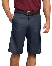 "13"" Relaxed Fit Multi-Pocket Work Shorts - Dark Navy (DN)"