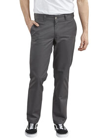 Dickies '67 Slim Fit Straight Leg Work Pants - Charcoal Gray (CH)