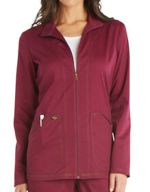 Women's Essence Warm-up Jacket - Maroon (WIN)
