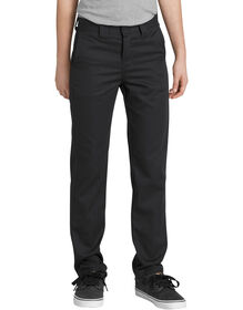 Boys' FLEX Slim Fit Taper Leg Flex Pants - Black (BK)