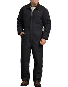 Sanded Duck Insulated Coveralls - Rinsed Black (RBK)