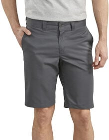 "Dickies '67 11"" Slim FLEX Twill Work Shorts - Charcoal Gray (CH)"