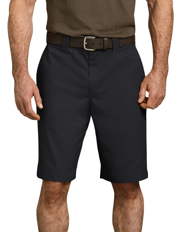 Icon Relaxed Fit Flex Waist Shorts - Black (BK)