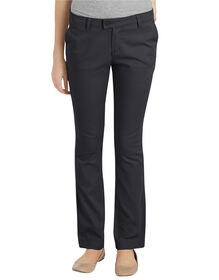 Juniors Plus Schoolwear Slim Fit Straight Leg Stretch Pants - Black (BK)