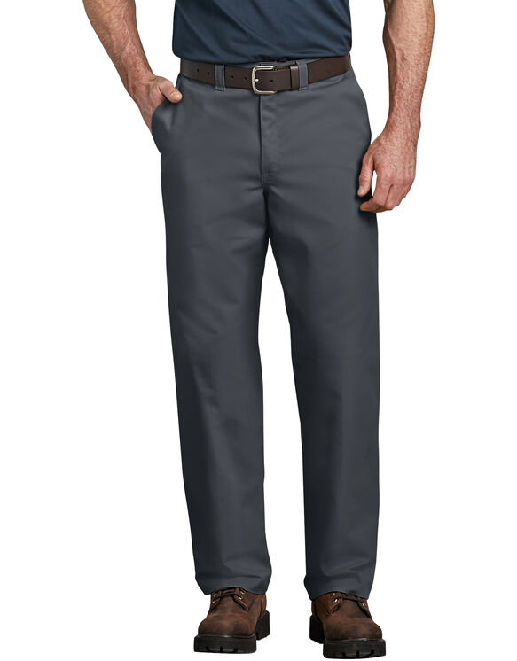 Industrial Relaxed Fit Straight Leg Comfort Waist Pants - DOW CHARCOAL (DC)