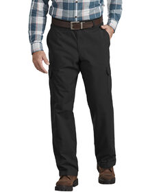 FLEX Regular Fit Ripstop Tough Max™ Cargo Pants - Rinsed Black (RBK)